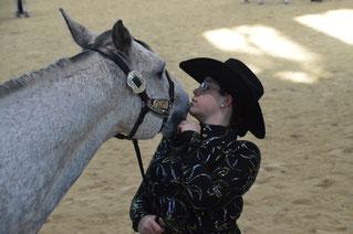 Eine starke Bindung zwischen Pferd und Reiter lässt Erfolg zu.
