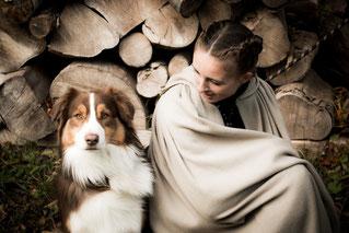mariage médiéval chien portrait lifestyle