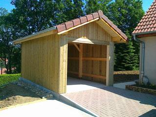Abris de jardin et garages concretabris for Garage bois autoclave
