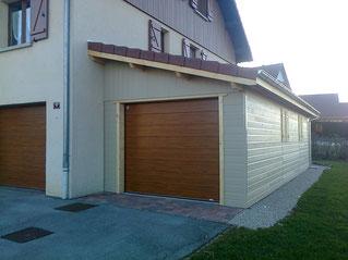 Auvent appentis et abris spa concretabris for Garage avec auvent