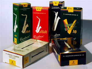 Rohrblätter für Saxophon und Klarinette