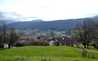 Blick über Courchapoix