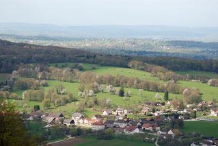 Blick auf Réclère