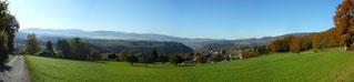 Panorama über Nenzlingen