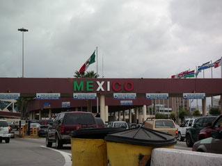 サンディエゴからメキシコ(ティワナ)国境