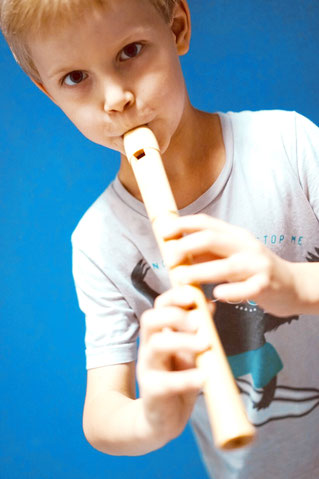 Flötenschüler