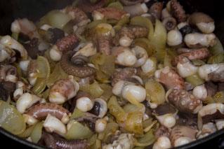 Oktopus Rezept Tintenfisch Rezept Kalmare Calimari Oktopus kochen Tintenfisch kochen selber machen Eintopf