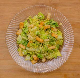 Caesar Salad Salat Originalrezept Rezept Zubereitung Original