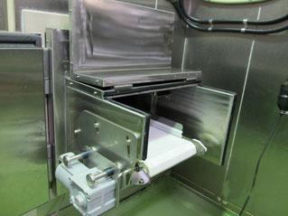 冷凍室出口装置