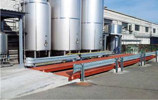 Mobile weighbridge Italy