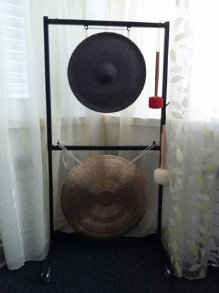 Sonnen- + Thai Buckel-Gong Serenum Klang-Meditationen