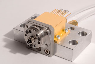 HHL housing for QCL laser with fiber coupling