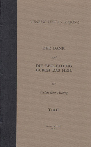Stefan Zajonz, Notate II, Gedichte, gedruckt auf Zeta-Zander-Papier, Canson / Deutpols, 22.09.2000, Bonn-Bad Godesberg