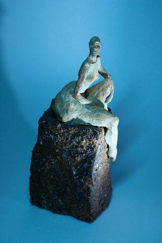 """Sculpture Juan José Ruiz Artiste/Auteur Sculpteur céramiste dit """"Caco"""" ...Photographie Christophe Spiesser"""