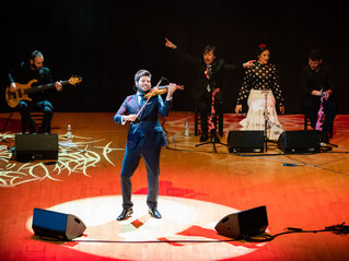 paco Montalvo, images, photos, fotos, concierto, violin, flamenco