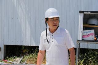 井上孝彦調教師の飛び入り解説が入りました
