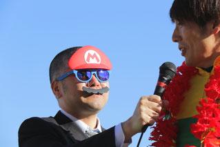 注)マリオは西田アナ