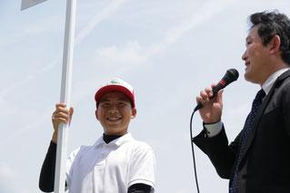 「父のような騎手になりたい」と東川慎候補生
