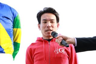 吉井友彦騎手からも応援コメントをいただきました。