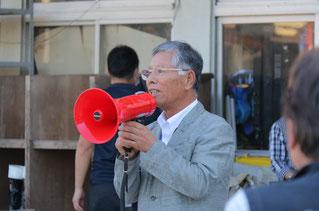 一般社団法人岐阜県馬主会会長の挨拶から始まります