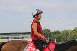 こちらは藤原幹生騎手