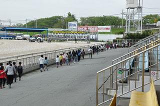 今回は笠松町下羽栗小学校の4年生51名による見学です