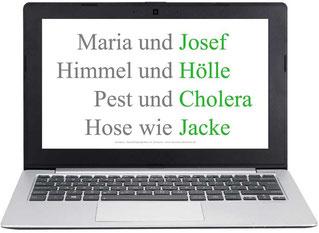Wortspiele - Spiele fuer Senioren Maerchenraten