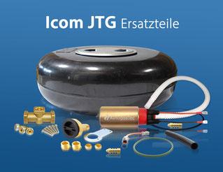 Icom JTG Ersatzteile für Gasanlage mit Flüssiggas-Einspritzung