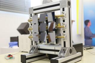 Makromodell eines DLP-Chips (Bild: VDI Saar)