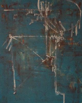「バードウォッチング」  キャンバスに油彩     91×72.7㎝