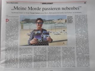 Interview mit Susan Carner im Mallorca Magazin