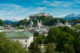 Salzburg Standansicht (©Tourismus Salzburg)