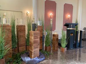 Trauerhalle und Aufbahrungsraum