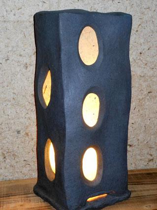 「灯・憩」           H 47cm