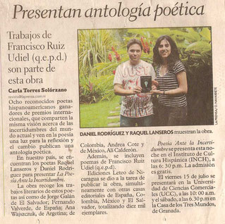 En La Prensa (Nicaragua)