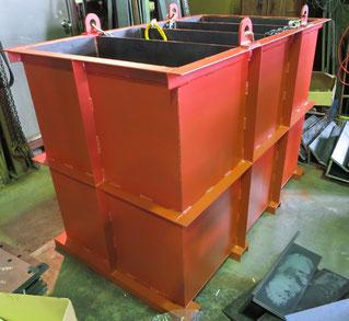 分離水槽(水と油) 高さ1000mm (材質:SS)