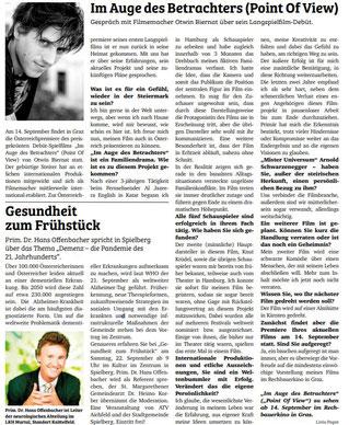 Otwin Biernat, Obersteirische Nachrichten