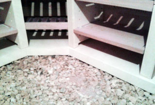 Stabilité de la cave à vins dans votre sous-sol
