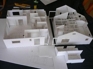 家づくり 模型