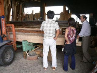 奈良県の製材所