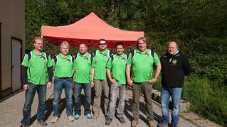 Tino, Dirk, Jens, Markus, Arnd, Uwe, Malte