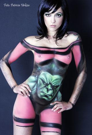 Liber body paint