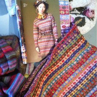 Schöner Pulli mit Wolle der Firma Rowan