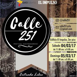 Festival Gastronómico Calle 251