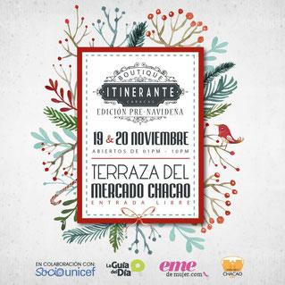 Boutique Itinerante - Edición Pre-Navideña 2016