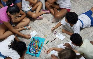 rio de janeiro, brasilien, favela, gastgeschenk, umwelt, problem of plastic