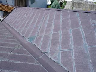カラーベスト屋根は色あせてしまいます…