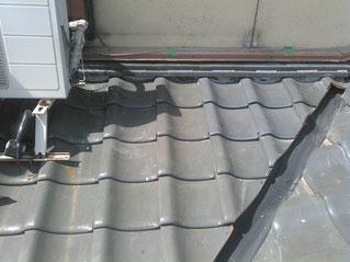 防水シート+ステンレス板で雨漏り修理&対策