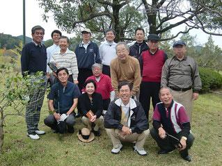 OBを加えた年2回のゴルフ会