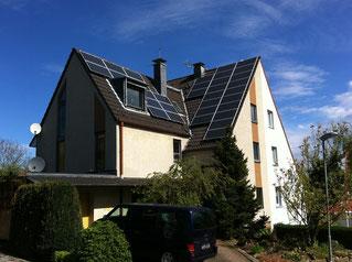SüdOstdachmit Photovoltaikanlage